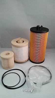 03-07 Ford F Series 6.0L Powerstroke Diesel Oil & Fuel Filter Kit FD4616 FL2016