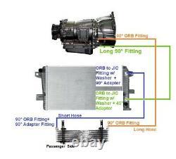 1/2 12000 PSIB Allison Transmission Cooler Lines 11-14 6.6l Duramax
