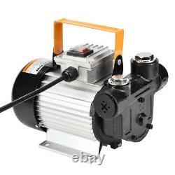 110V 550W Commercial Electric Oil Pump Self Priming Transfer Fuel Diesel ACTP60