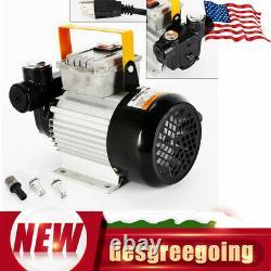 110V Motor Oil Diesel Fuel Fluid Extractor Electric Transfer Pump Self Priming
