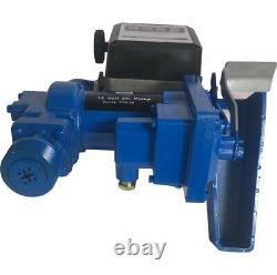 12 V Diesel Petrol Gasoline Anti-Explosive Fuel Transfer Pump with Oil Meter 20GPM