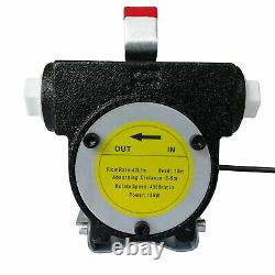 12V 10GPM Electric Diesel Oil And Fuel Transfer Extractor Pump with Nozzle & Hose