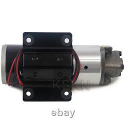 12V/220V Mini Electric Hydraulic Pump 75W Diesel/Fuel/Oil Pump Gear Pump