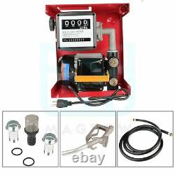 12V DC Electric Gas Transfer Pump155W with Nozzle Suitable For Oil Fuel Diesel