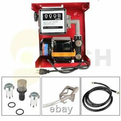 12V Oil Pump 155W Electric Gas Transfer Gallon Fuel Diesel Automatic Extractor