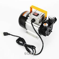 16GPM 550W Oil Diesel Fuel Transfer Pump Self Priming 110V AC 60L/min Pump