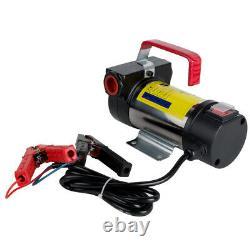175W 12V DC Safty Electric Fuel Transfer Pump For Diesel Kerosene Oil Commercial