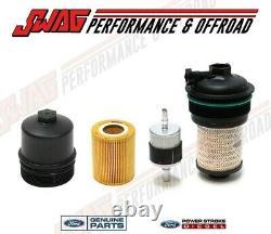 18 Ford F150 3.0L Powerstroke Diesel OEM Motorcraft Oil & Fuel Filter Kit
