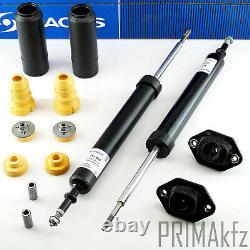 2 Sachs Shock Absorber + Strut Mount + Buffer Rear BMW E81 E82 E88 E90 E91