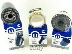 2 Sets of Ram 2500 3500 4500 5500 Factory Mopar Diesel Fuel and Oil Filter Set