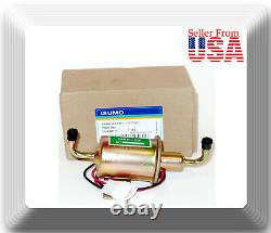 2 x 12V angle Low Pressure Electric Fuel Pump Diesel Gas Fuel Oil Universal car