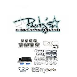 2008-2010 Ford 6.4 Powerstroke Complete Rebuild Kit with Pistons ARP Studs Gaskets