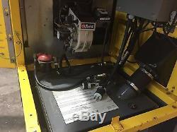 2011 Wacker Neuson HI750 DIESEL / OIL Heater including fuel tank