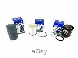 2013-2017 Ram 2500 3500 4500 5500 6.7L Diesel Oil & Fuel Filter Kit Mopar New OE