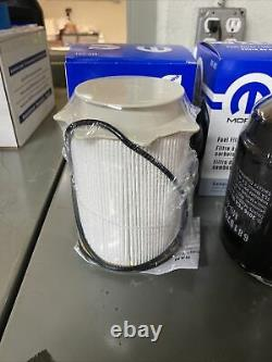 2013-2018 RAM 2500 3500 4500 6.7L Cummins Oil Filter Fuel Filter Kit Mopar OEM