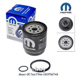 2013-2018 Ram 2500 3500 4500 5500 6.7l Diesel Oil Fuel Filter Kit Mopar Genuine