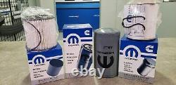2019 Ram 2500 3500 4500 5500 Factory Mopar Diesel Fuel and Oil Filter Set