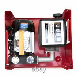 220V 550W Electric Fuel Self-Priming Transfer Pump Oil Diesel 60 L/ min DP60L EU