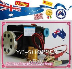 24V 70L/min Diesel Oil Fuel Transfer Pump Heavy Duty & Large Flow