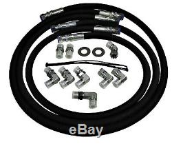 5/8 6000 PSIB Allison Transmission Cooler Lines 11-16 6.6l Duramax with Adapters