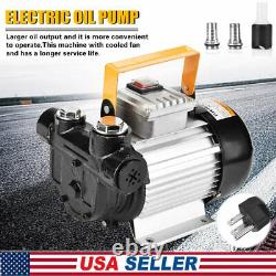 550W Commercial Electric Oil Pump Self Priming Transfer Fuel Diesel Industry