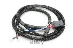6.5L GM Diesel Oil Pressure Switch (OPS) Bypass Fuel Pump Relay Harness, 92-94