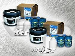 6.6l Turbo Diesel 2 Air, 4 Oil & 2 Fuel Filters Replaces A2947c Tp1298