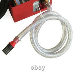 60 L/min Electric Diesel Fuel Oil Transfer Pump Self-Priming Pump + Fuel Nozzle