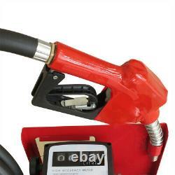 60L / Min Electric Diesel Oil Fuel Transfer Pump with Nozzle & Hose 220V 2800RPM