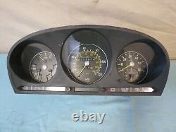 72-89 Mercedes r107 w116 DIESEL Speedometer 120MPH 338k 87001021 1165422301
