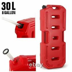 8 Gallon 30L Can Gas Diesel Oil Petrol Fuel Spare Tank Container Off Road ATV US