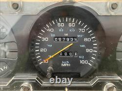 90 91 92 93 Dodge Ramcharger WithD Pickup Gauge Cluster Speedometer Cummins Diesel