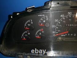 99 00 01 02 Ford F250 F350 Pickup Truck Powerstroke Diesel Cluster Speedometer