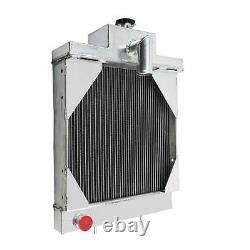 A39344 Radiator with Oil Cooler Fit Case-IH 430CK, 480B, 480CK, 530CK, 580B GAS&DIESEL