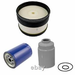 AC Delco Air Oil Fuel Filter Set of 3 for Chevy GMC 6.6L Duramax Turbo Diesel