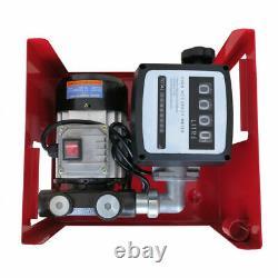 Auto 550W Electric Fuel Transfer Pump 60 l / min Diesel Oil for Pumping Oil