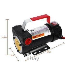 Auto DC 12V Electric Fuel Transfer Pump Diesel Kerosene Oil Commercial Portable