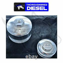 Beans Diesel Performance Billet Upper Fuel & Oil Filter Kit For 03-07 Ford 6.0L