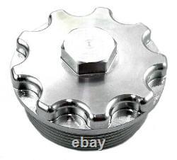 Billet Aluminum Oil Filter, Fuel Filter and Oil Filler Cap Set for 2003-2007 For
