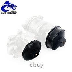 Billet Aluminum Oil & Fuel Filter Caps For Ford 6.0L Powerstroke Diesel 03-07