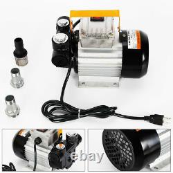 Commercial Self Priming Electric Oil Pump Transfer Fuel Diesel 110V AC 16GPM hot