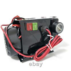 DC 12V Heavy Duty Fuel Oil Diesel Transfer Pump 60L/Min Continuous Rated M