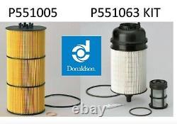 Detroit DD13 /DD15/ DD16 Filter Kit- Oil & 2 Fuel Filter Kit Donaldson Cascadia
