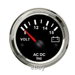 Diesel Engine set of 5 gauges RPM, Coolant Tempe, oil pressure, Fuel, Voltmeter