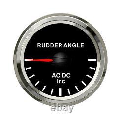 Diesel Gauges set of 7 RPM, Coolant Temp, oil pressure, Fuel, Rudder angel, trans