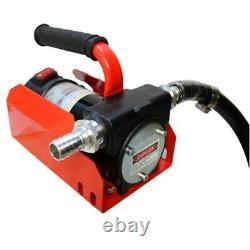 Diesel Kerosene Oil DC Fuel Transfer Pump 12V 40LPM 10.5GPM 30Mins Duty Cycle