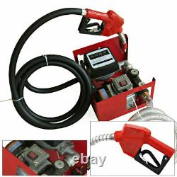Diesel Transfer Pump Self Priming Extractor Gas Fuel Oil Electric 220v Factory