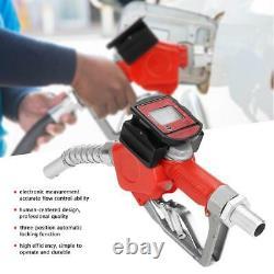 Digital Fuel Oil Diesel Kerosene Gasoline Nozzle Gun with Flow Meter SH