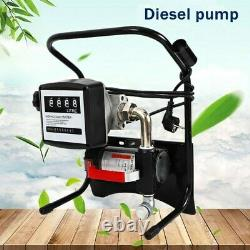 Electric 375W Motor Oil Diesel FUEL Fluid Extractor Change Pump Transfer Diesel