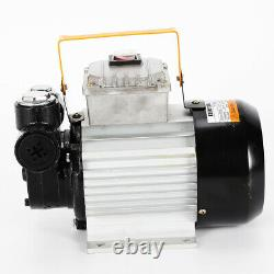 Electric Fuel Oil Diesel Transfer Pump Kit Self Priming Oil Pump 60L/Min 16 GPM